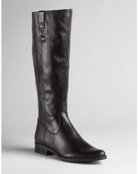 Calvin Klein | Brown Tamryn Leather Boots | Lyst
