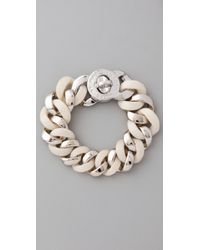 Marc By Marc Jacobs | Natural Turnlock Katie Bracelet | Lyst