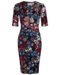 Mary Katrantzou | Pink Wild Rose Jersey Dress | Lyst