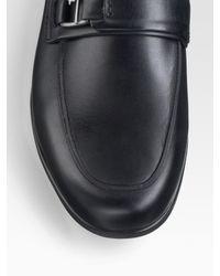 Ferragamo | Black World Tempo Loafers for Men | Lyst