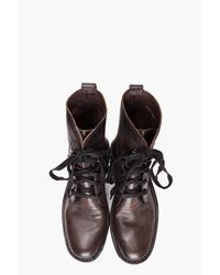 John Varvatos | Gray Winter Hipster Boots for Men | Lyst
