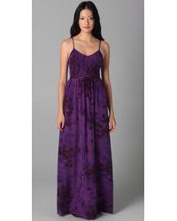 Rebecca Taylor | Purple Tie Dye Smocked Dress | Lyst