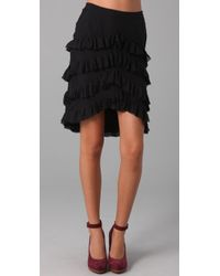 Twenty8Twelve | Black Amelia Tiered Skirt | Lyst