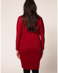 ASOS Collection - Red Asos Curve Ovoid Dress - Lyst