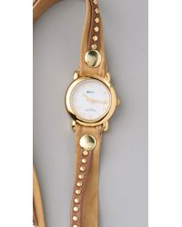 La Mer Collections | Natural Bali Stud Wrap Watch | Lyst