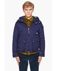G-Star RAW | Blue Ontario Bomber Jacket for Men | Lyst