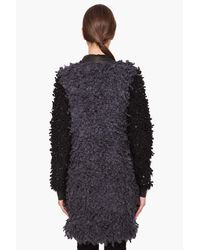 Rag & Bone - Gray Brent Coat in Charcoal/black - Lyst