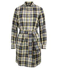 A.P.C.   Yellow Vintage Jaune Dor Shirt Dress   Lyst