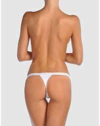 Calvin Klein   White Briefs   Lyst
