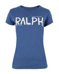 Denim & Supply Ralph Lauren | Ss Ralph Cn Blue T-shirt | Lyst