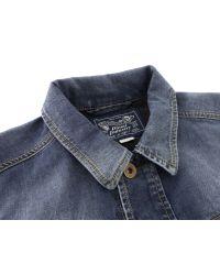 DIESEL | Blue Jhima Denim Jacket for Men | Lyst