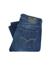 DIESEL | Blue Diesel Zathan 74g Bootcut Jeans for Men | Lyst
