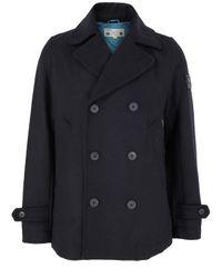 DIESEL | Blue Wanty Navy Coat for Men | Lyst