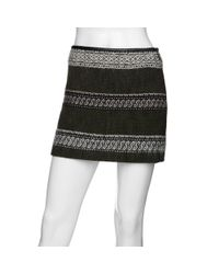 Edun | Green A Line Mini Skirt | Lyst