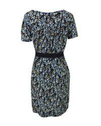 Farhi by Nicole Farhi | Black Cherry D1ax5 Bright Blue Dress | Lyst