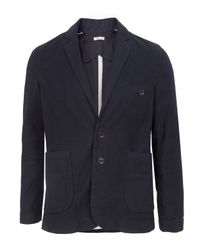 Folk | Blue Cotton Taped Midnight Jacket for Men | Lyst