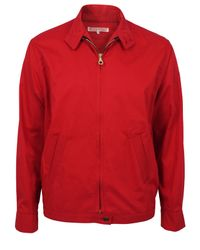 Heritage Research   Drizzler Red Jacket for Men   Lyst