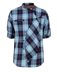 Humor | Rowdy -060 Blue Shirt for Men | Lyst