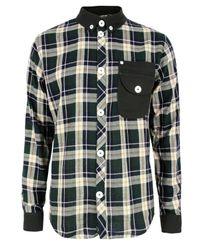 Humor | Ulli Green Check Shirt for Men | Lyst