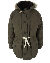 Nigel Cabourn | Green Army Everest Parka Jacket for Men | Lyst