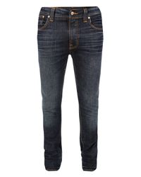 Nudie Jeans | Tape Ted Used Brown Jeans for Men | Lyst