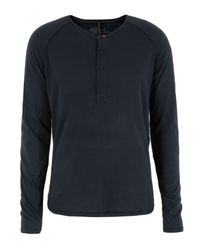 Nudie Jeans | Blue Indigo Ls Henley T-shirt for Men | Lyst