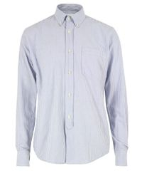 Our Legacy | Blue S Candy Stripe Shirt for Men | Lyst