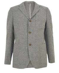 Our Legacy | Gray Rolling 3 Button Grey Tweed Jacket for Men | Lyst