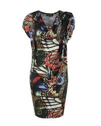 Paul Smith Black Label | Multicolor N727-239 Multi Print Dress | Lyst