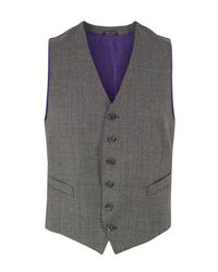 Paul Smith | Brown Chocolate Waistcoat for Men | Lyst