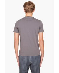 Paul Smith | Gray Moon Printed T-shirt for Men | Lyst