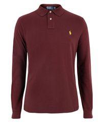 Polo Ralph Lauren | Purple A12-kl841 Wine Polo Shirt for Men | Lyst