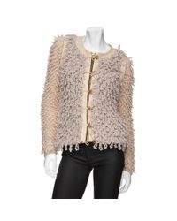 Rag & Bone - Natural Brent Zip Shaggy Jacket - Lyst