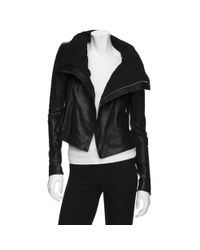 VEDA | Max Leather Classic Jacket in Black | Lyst