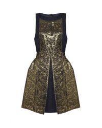 Tibi | Blue Jacquard Dress | Lyst