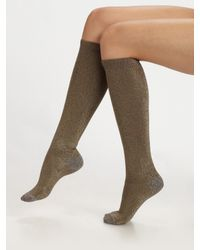 Marc By Marc Jacobs | Metallic Swizzle Sparkle Socks | Lyst