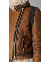 Rag & Bone | Brown Preorder Shoreditch Shearling Jacket | Lyst