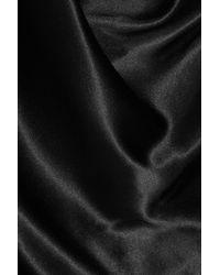 Vivienne Westwood Gold Label - Black Savannah Silk-satin Dress - Lyst
