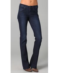 James Jeans | Blue Reboot Skinny Boot Leg Jeans | Lyst