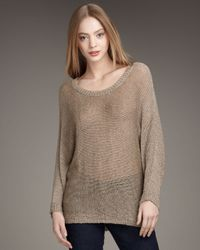 Joie | Natural Emilie Linen Sweater | Lyst