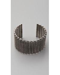 Rachel Leigh | Metallic Tryst Cuff | Lyst