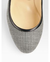 Christian Louboutin | Gray Roudounia Houndstooth Mary Jane Pumps | Lyst