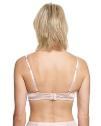 John Lewis - Pink Heavenly Lace Strapless Bra - Lyst