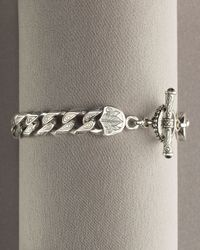Konstantino | Metallic Thin-link Bracelet for Men | Lyst
