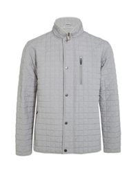 Dunhill | Gray Elsworth Quilted Jacket for Men | Lyst