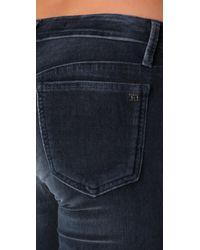 Joe's Jeans - Blue Velvet Skinny Pants - Lyst