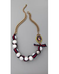 Juicy Couture | Multicolor The Crown Jewels Gumball Pearl Necklace | Lyst