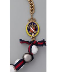 Juicy Couture - Multicolor The Crown Jewels Gumball Pearl Necklace - Lyst