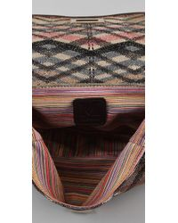 M Missoni - Metallic Cross Body Bag - Lyst