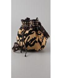 M Missoni | Multicolor Studded Tiger Cross Body Bag | Lyst